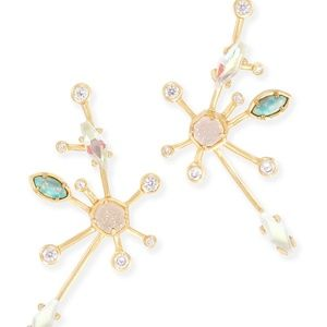 Kendra Scott Matilda Ear Climber gold earrings